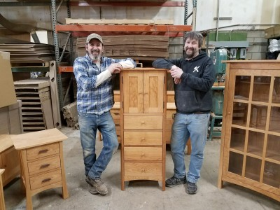 Vermont Furniture Designs Has Been Handcrafting Heirloom Quality Hardwood For Over 38 Years
