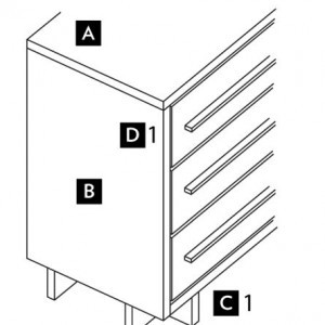 Diagram of all Loft line details. (Contemporary.)
